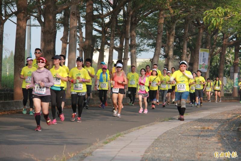 田中馬升級為國內4大賽事,有民眾希望加入國際田徑總會(IAAF)的馬拉松國際認證,成為奧運資格賽事。(資料照,記者陳冠備攝)