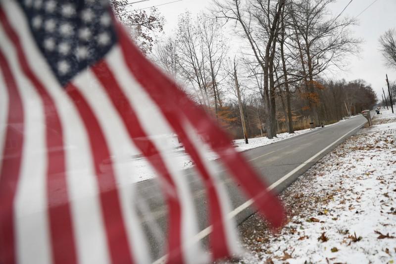 美國尚未迎來11月,卻被測得百年來10月份的最低溫。(美聯社檔案照)