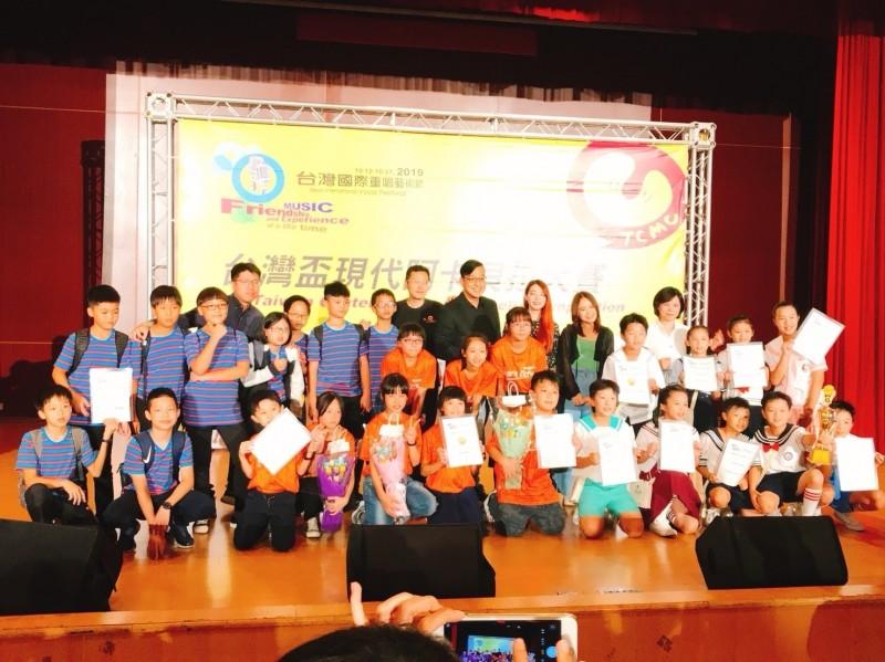 屏東縣4個人聲樂團在今年台灣國際重唱藝術節表現優異。(圖由屏東縣文化處提供)