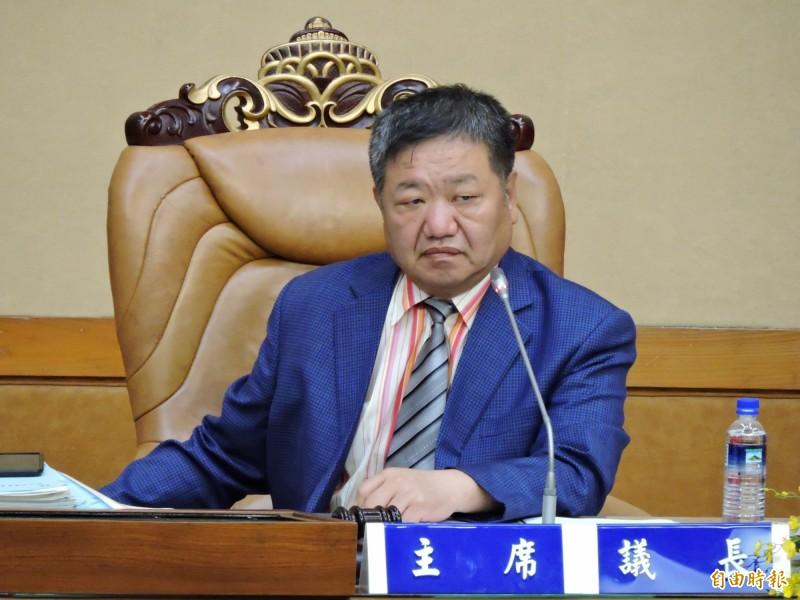 對於台北地院的判決,新北市議會議長蔣根煌質疑「法院是民進黨開的」。(資料照)
