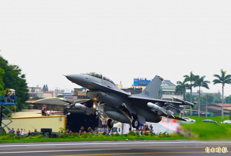 印尼空軍計畫採購F-16V戰機。圖為我國F-16V戰機(資料照)