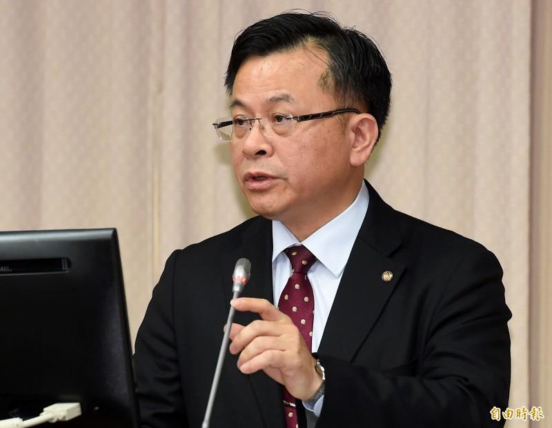 NCC代理主委陳耀祥4日赴立院交通委員會報告備詢。(記者朱沛雄攝)