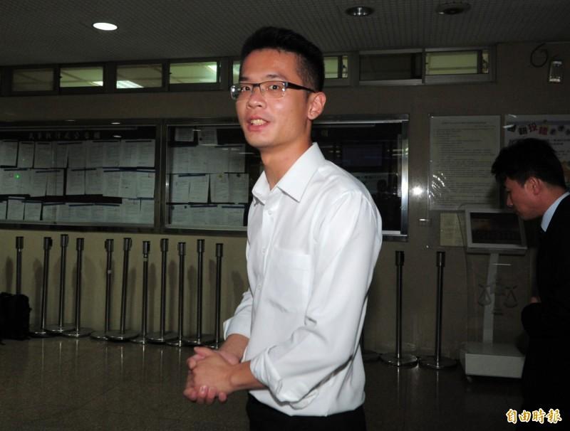 已故作家李敖之子李戡(見圖)認為中客斷源是國民黨總統參選人韓國瑜「搞丟的」。(資料照)