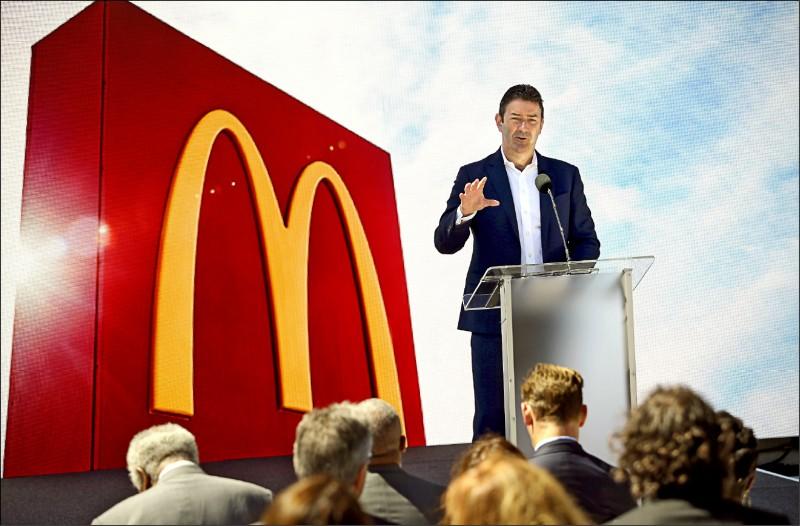 麥當勞三日宣布,開除總裁兼執行長伊斯特布洛克。(彭博檔案照)