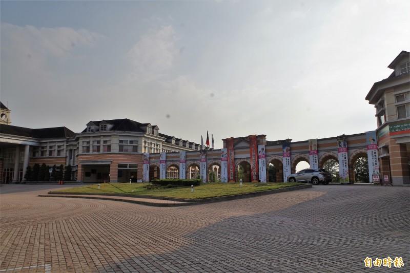 韓國瑜在斗六市創辦的維多利亞學校。(本報資料照)