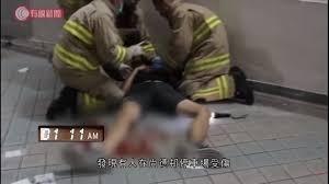 香港科大生疑避催淚彈墮樓,據傳已腦死,準備拔管。(記者陳成良翻攝)