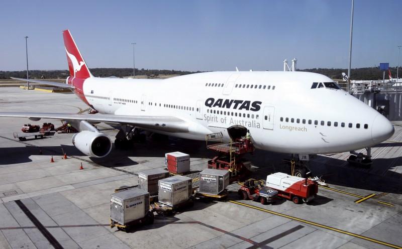 經調查顯示澳洲航空(Qantas)過去一年間,每四位員工就有一位曾經在工作時遭性騷擾。(法新社)