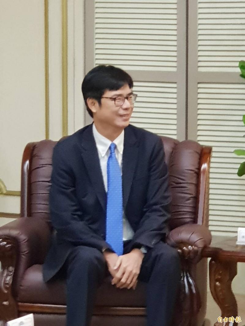 行政院副院長陳其邁表示,台灣需要跨國通力合作進行資安聯合防禦。(資料照)
