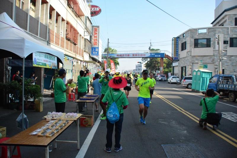 今年邁入第8屆的田中馬拉松賽事,標榜「最具人情味」為活動核心價值,今年更獲選「台灣品牌國際賽事」。(資料照)