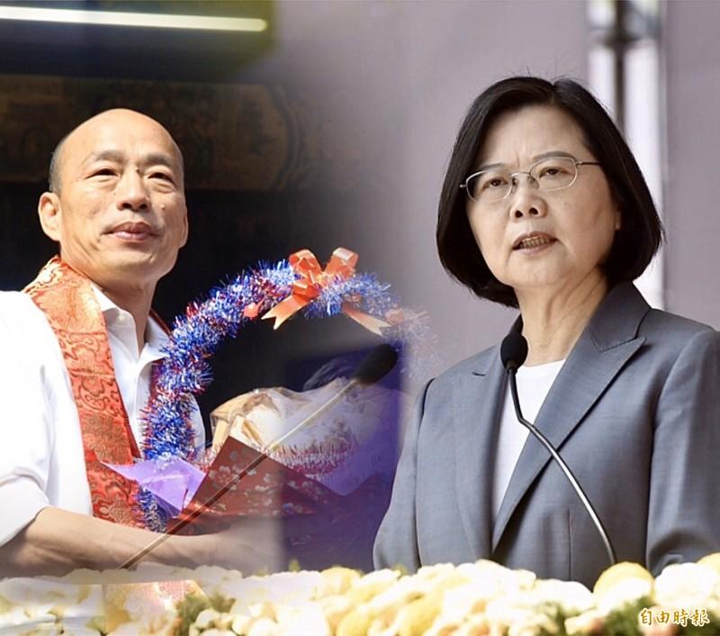 旅美學者翁達瑞痛批,投廢票是對不起台灣民主前輩的行為。(資料照,本報合成)