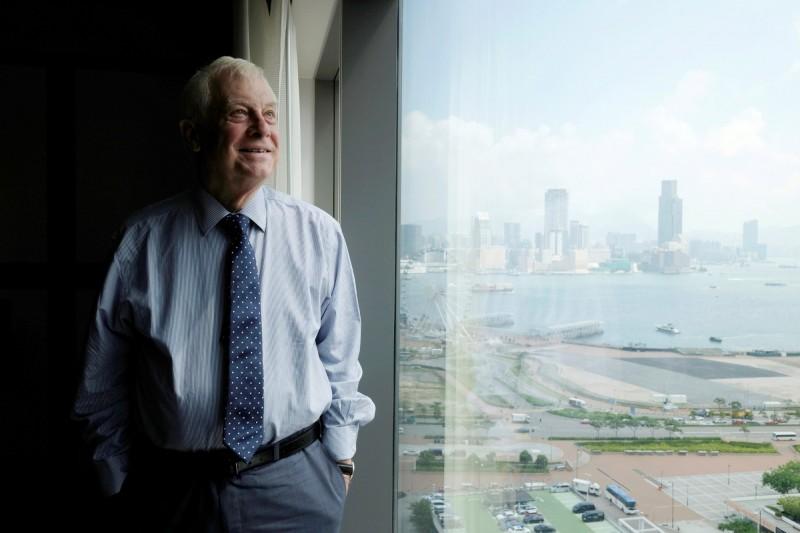 末代港督彭定康接受專訪時表示,自香港回歸以來,中國的所作所為令一代的香港人希望獨立。(路透)