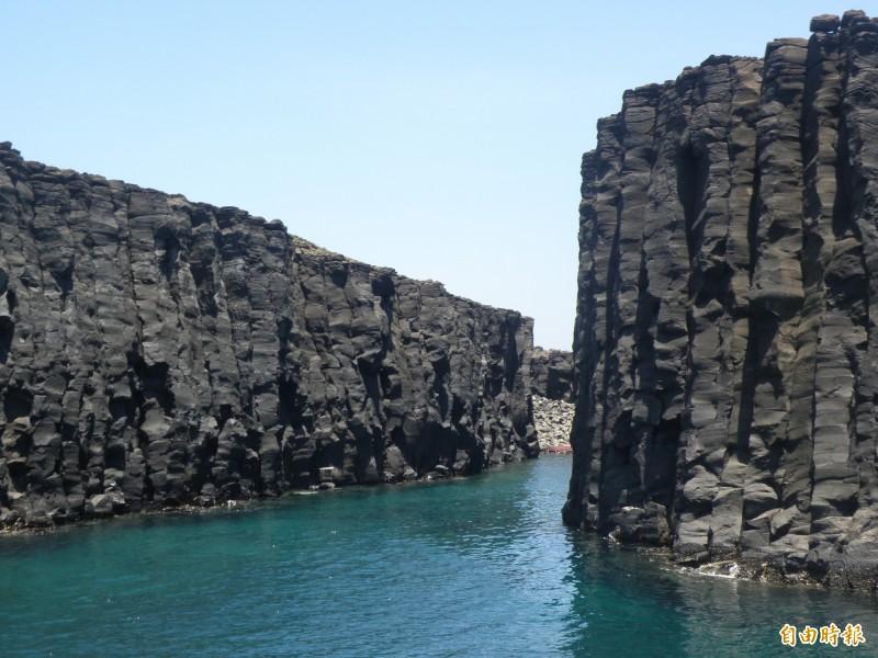 南方四島國家公園漁業權限縮?海管處澄清誤會。(記者劉禹慶攝)