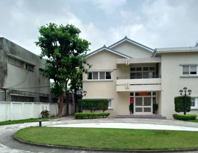 台南市長黃偉哲現居住新營的市長官邸。(記者洪瑞琴翻攝)