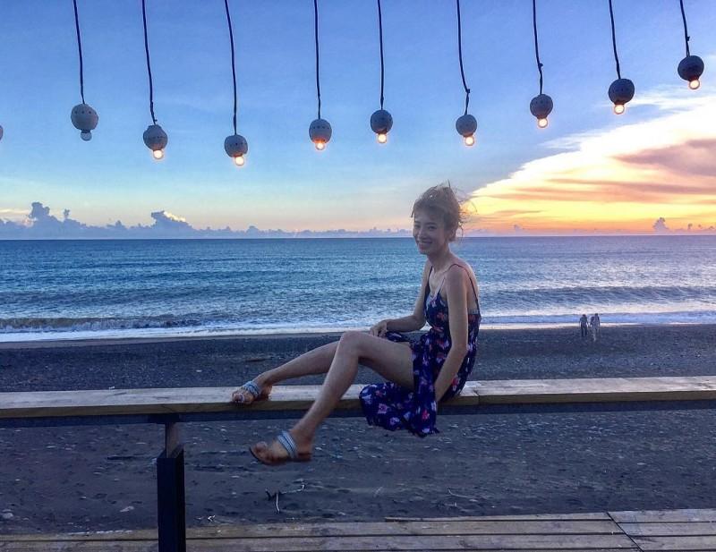 劉昱吟氣質出眾,更有著一雙美腿。(圖擷自Instagram:cyinwonderland)