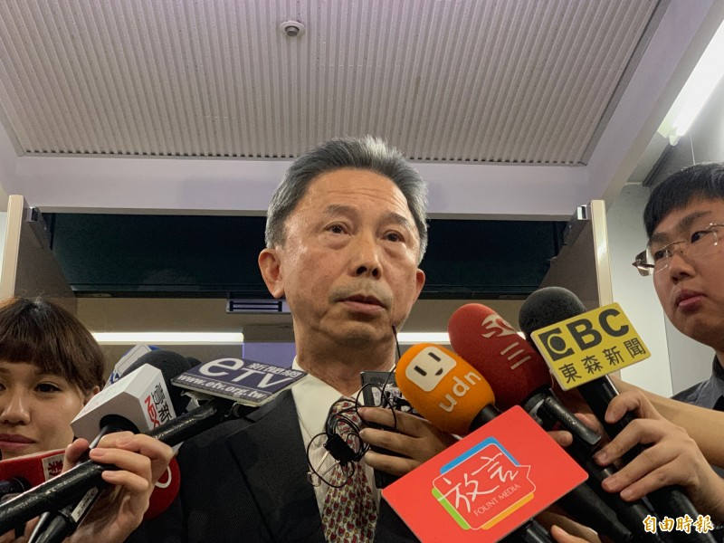議員為了是否同意用「台灣台北市」或「中華民國台北市」、「台北市」簽署姊妹市協議,意見不一,全案被暫擱。圖為市府發言人周台竹。(資料照)