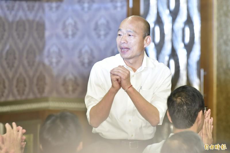 陳東豪認為,韓國瑜的朋友相繼出面爆料爭議事件,「其實很多都是因為選總統這件事情」。(資料照)