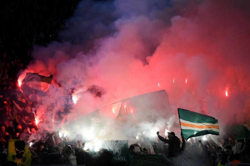 蘇格蘭塞爾特人足球隊(Celtic)今(8)日歐洲聯賽遠征義大利羅馬拉齊歐隊(Lazio)以2比1取勝。(路透)