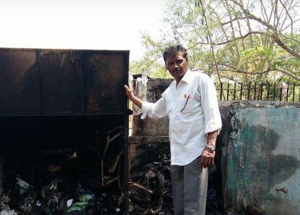南德梅哈說,他至今還能想起失去店鋪的悲傷,所以立志要做些什麼來改變這個情況。(圖取自臉書Suresh Nandmehar)