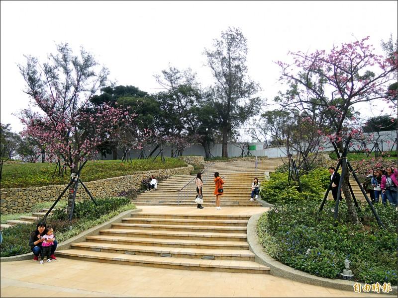 新竹市府主辦二○二一年台灣燈會,新竹公園將成為主燈區。(記者洪美秀攝)