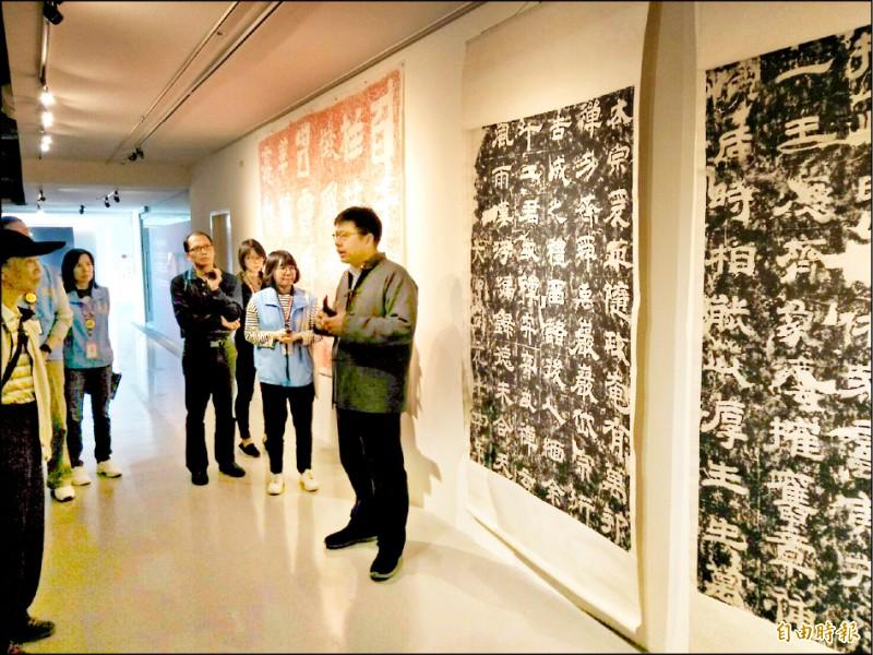 宗博館18周年慶將有3項特展展出。(記者翁聿煌攝)