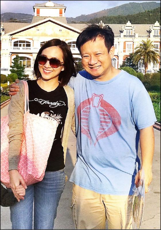 聯電榮譽副董事長宣明智的兒子宣昶有(右),與妻子王敏(左)長達6年多的婚變紛爭終於落幕。(資料照,記者蔡彰盛翻攝)