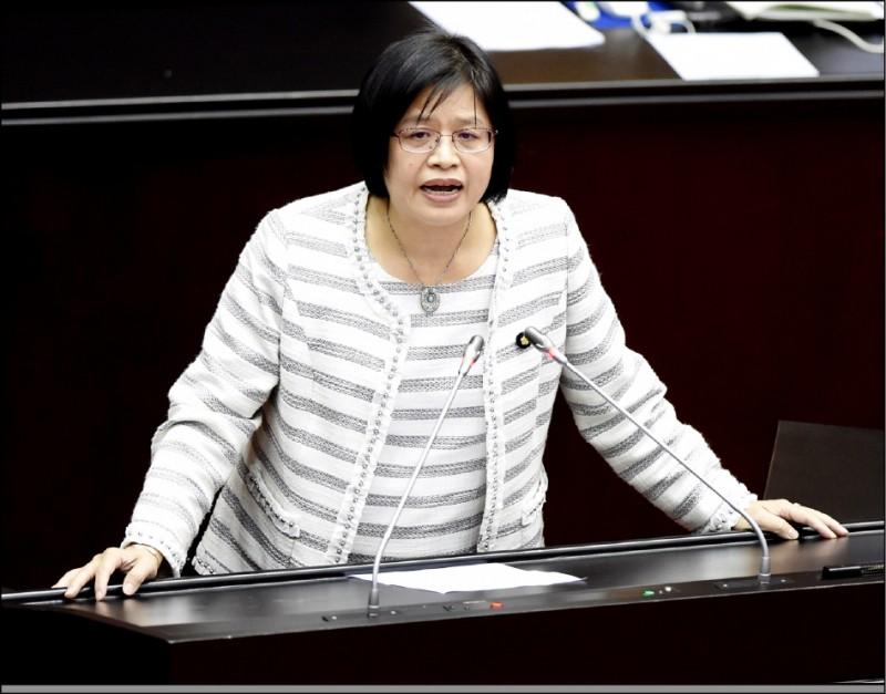 民進黨不分區立委吳玉琴等人,表態爭取連任。(資料照)