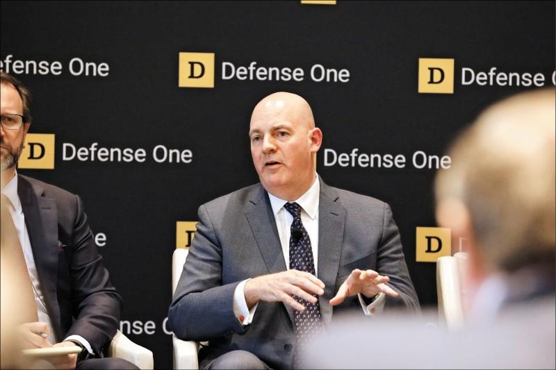 美國國務院政軍局助理國務卿古柏七日表示,美國不會因為中國揚言制裁美企,背棄與台灣的夥伴關係。(中央社)