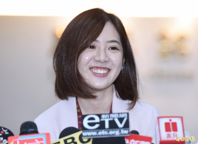 台北市政府副發言人黃瀞瑩。(資料照)