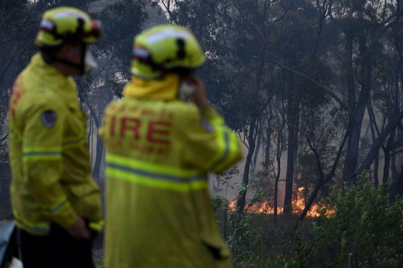 澳洲大火持續蔓延。(路透社)