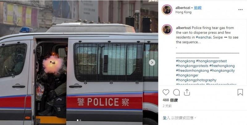 近日這張照片在香港社群上廣為流傳。(圖擷取自IG「albertozi」)