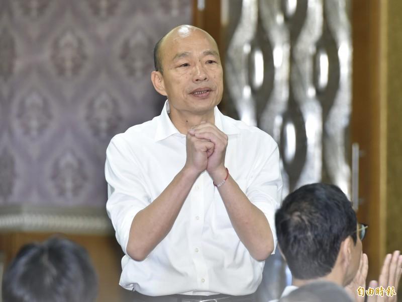 昨日國民黨總統參選人韓國瑜鬆口稱「已找到副手」,對此,前新北市長朱立倫早上受訪時也表示「大家放心,一定加分」,有網友就在PTT上發文稱這個暗示夠明顯了吧,在PTT板上掀起熱烈討論。(資料照)