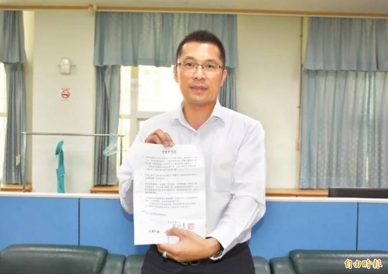 已退出民進黨的雲林縣副議長蘇俊豪表明,還沒決定是否支持韓國瑜。(資料照)