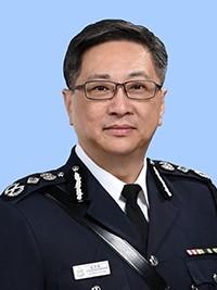 香港警務處處長盧偉聰。(取自香港警務處官網)