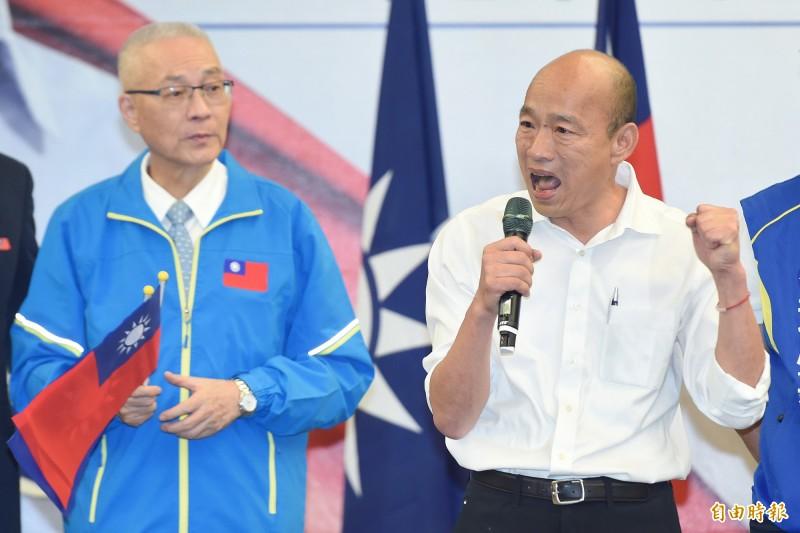 外界解讀為因為前新北市長朱立倫不願當韓副手,張是朱的備胎,國民黨主席吳敦義今表示,千萬不要這樣解釋,「這是不正確的」。(資料照)