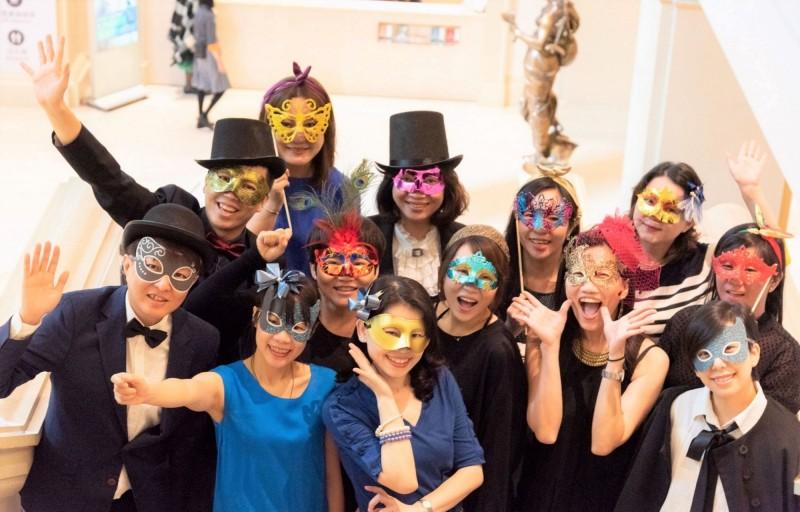 奇美博物館將舉辦「聖誕週末之化裝舞會」,邀請民眾一起來玩。(記者吳俊鋒翻攝)