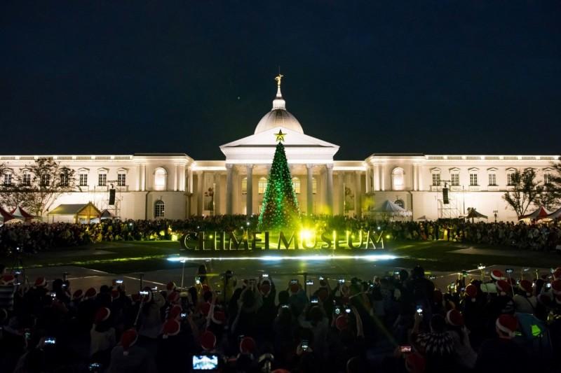 奇美博物館的「聖誕週末」,將於12月再度登場。(記者吳俊鋒翻攝)