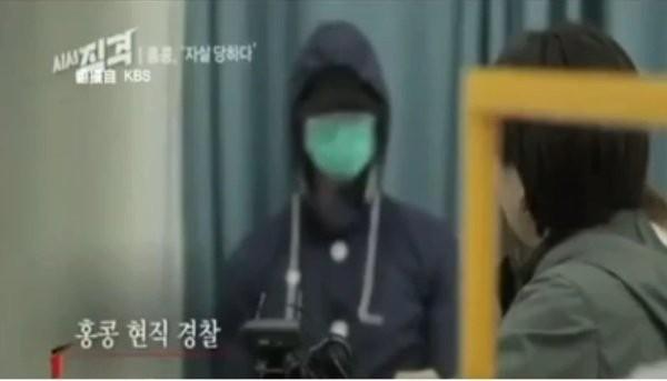 香港警察使用過分武力處理「反送中」示威受到國際關注,南韓電視台日前採訪了一名不願曝光身分的香港警察,這名員警爆出多個內幕。(圖取自看中國新聞網)