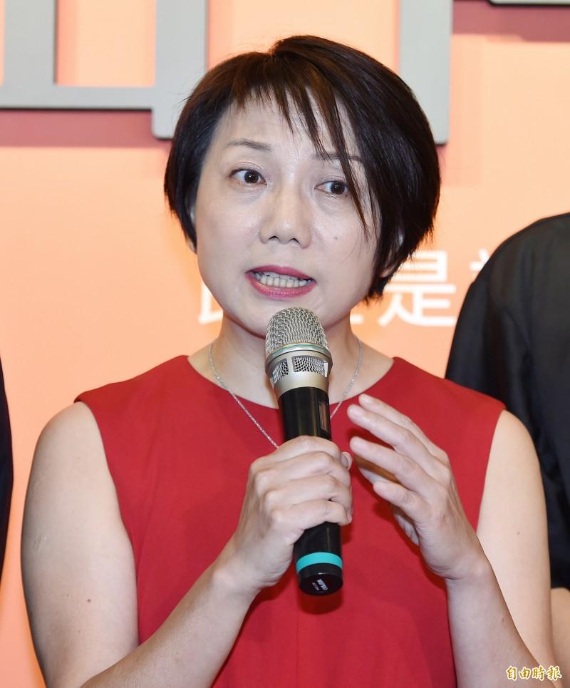 社民黨前召集人范雲(見圖)納入民進黨不分區立委安全名單。(記者廖振輝攝)