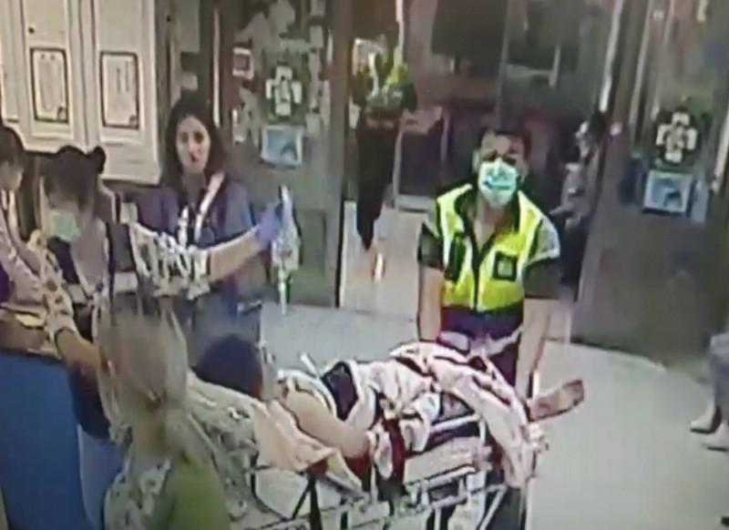 彰化建國科大驚傳大學生口角,竟持西瓜刀狂砍同學送醫急救。(記者湯世名翻攝)
