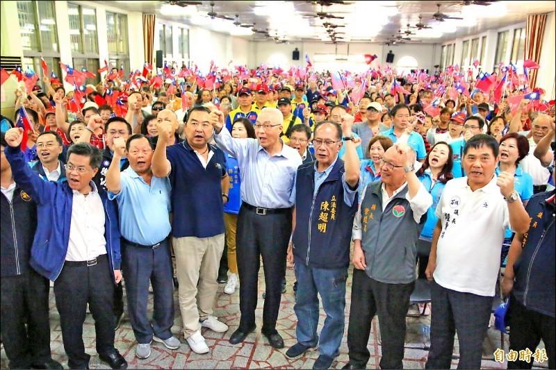 王定宇指出,國民黨此次不分區立委名單不乏危險親中派,若當選恐使台灣國安、國防、外交齊開大洞。(資料照)
