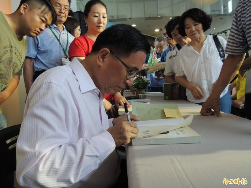 一邊一國行動黨發言人陳昭姿今於媒體群組中表示,黨提名小組幾經討論,目前有一致共識,擬提名前總統陳水扁擔任一邊一國行動黨不分區立委候選人。(資料照)