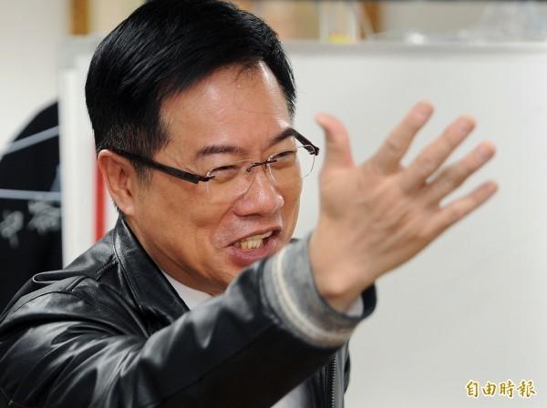 前國民黨立委蔡正元開砲,「天才,張善政真是天才」。(資料照)