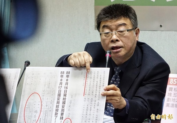 邱毅在中國節目中指出,統一是必然也是必須的,此言論被台灣網友砲轟。(資料照)