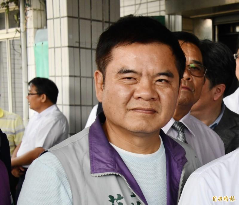 原參選區域立委的莊瑞雄列入不分區、排名並由原訂13名提前至10名。(資料照,記者蔡宗憲攝)