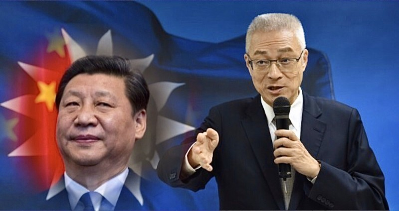 陳芳明認為,從此次的國民黨不分區立委名單可看出,第三次國共合作已經開始。(資料照,美聯社,本報合成)