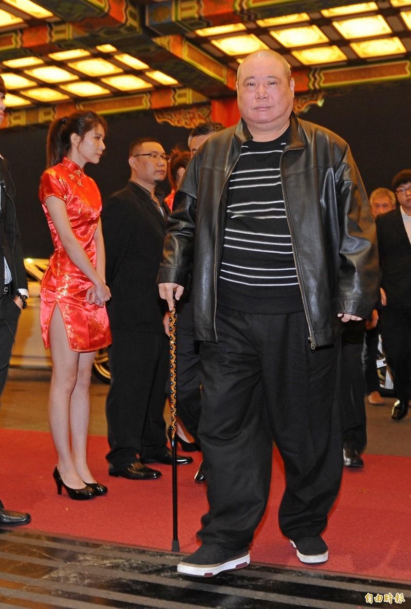 竹聯幫幫主黃少岑(見圖)將私下招待123桌慶祝70歲大壽。(資料照)