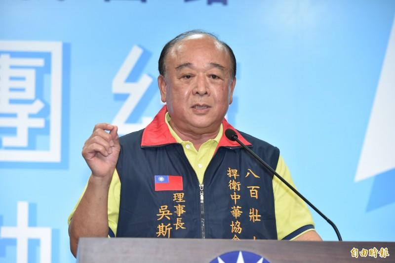 吳斯懷續留國民黨不分區安全名單。(資料照)