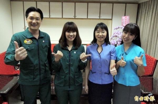中華郵政員工現行制服,是於104年改版。(資料照)