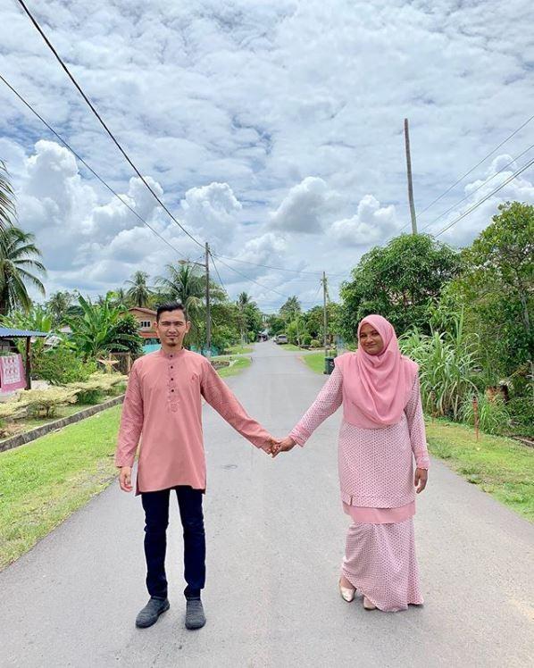 馬來西亞男子沙哈丹就讀高中時對實習老師艾莎一見鍾情。(圖擷自muhdhazim278 IG)