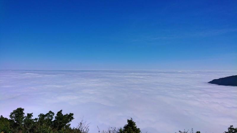 太平山的雲海。(圖由黃清漢提供)